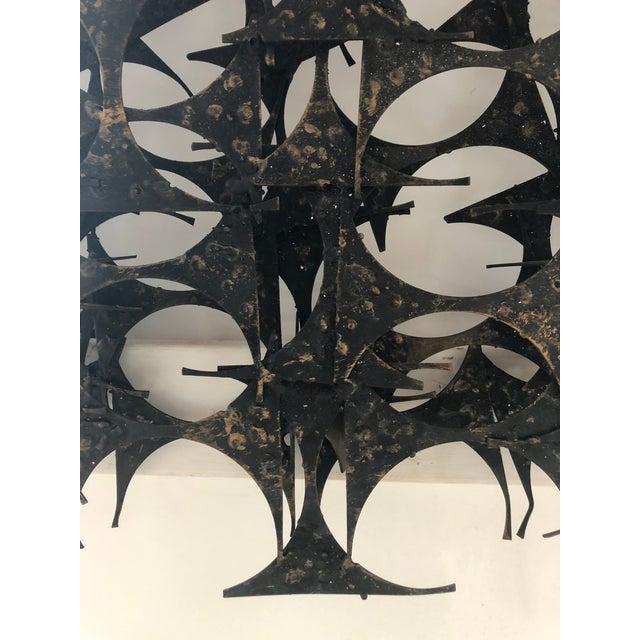 Mid-Century Modern Midcentury Brutalist Wall Sculpture by Marc Weinstein For Sale - Image 3 of 7