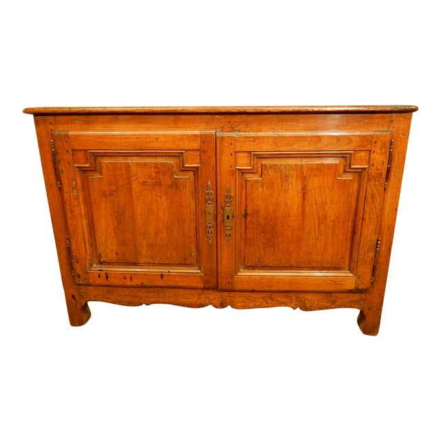 18th Century French Provincial Walnut Buffet For Sale