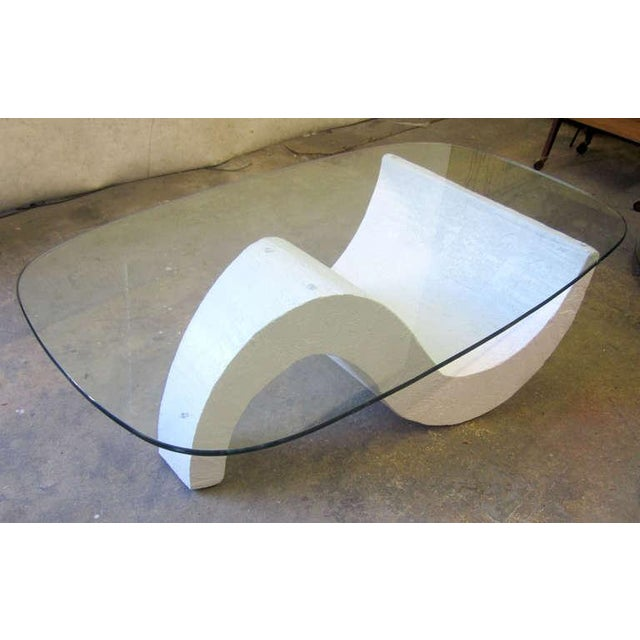 S-Base Concrete Coffee Table - Image 2 of 5