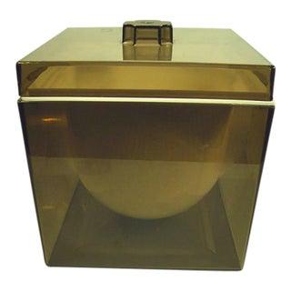 Vintage Mid-Century Modern Acrylic Ice Bucket