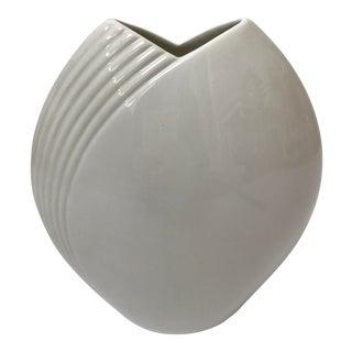 Modern Contemporary White Vase by Christopher Stuart