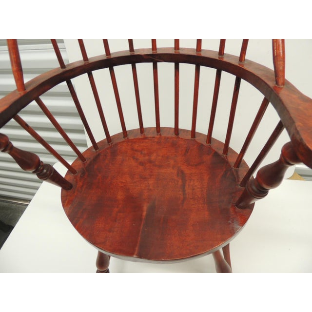 Vintage Child's Windsor Arm Chair For Sale - Image 4 of 7