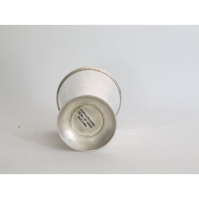 Silver-plated Julep Cups - S/6 - Image 6 of 6