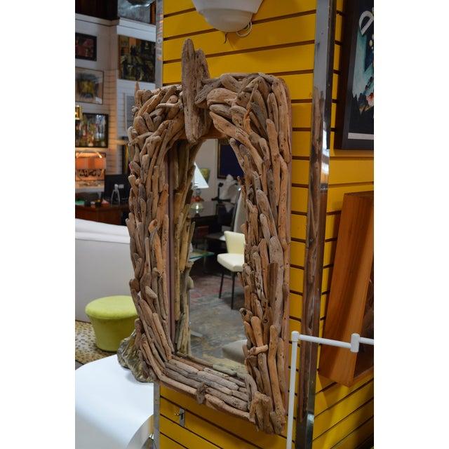 California Modern Driftwood Mirror - Image 2 of 4