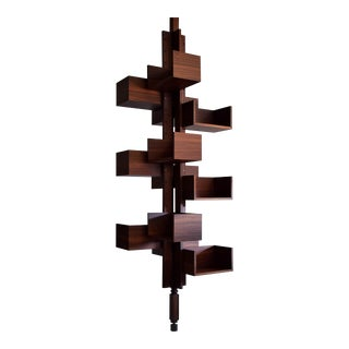 Mid Century Modern Rosewood Bookmill Albero by Gianfranco Frattini For Sale