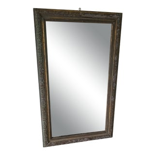 Early 19th Century Antique French Distressed Mirror For Sale