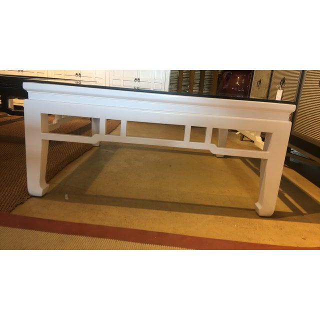 White Glossy Coffee Table - Image 2 of 3
