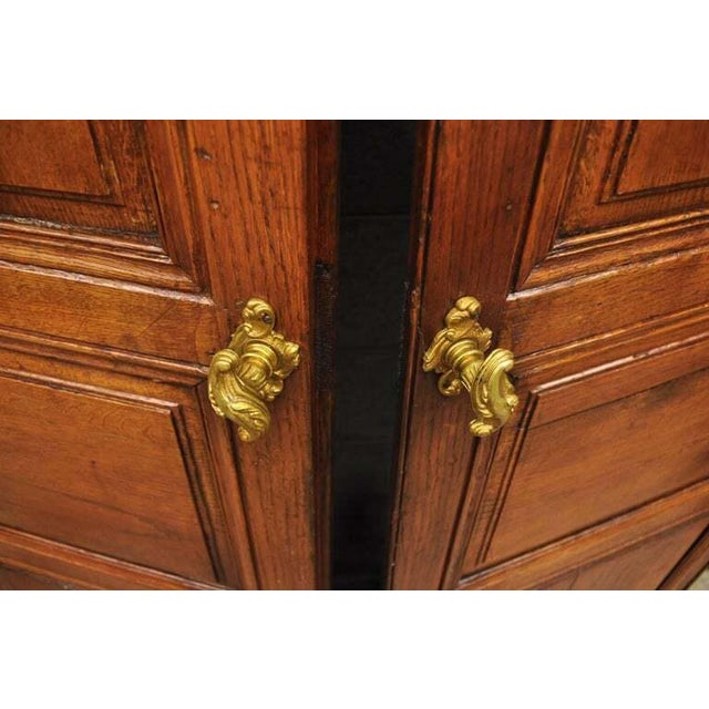 19th Century French Louis XVI Oak Interior Double Doors - Set of 2 For Sale In Philadelphia - Image 6 of 13