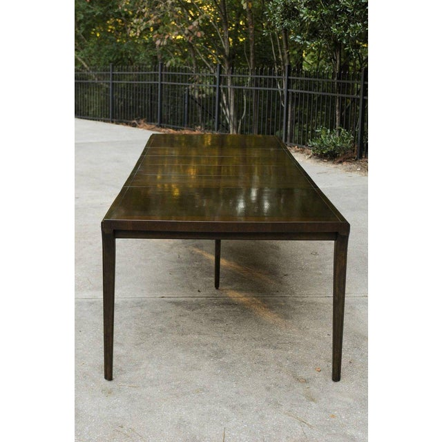 Supremely Elegant Mahogany Extension Dining Table by Widdicomb, circa 1970 For Sale - Image 9 of 11