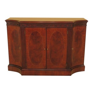 Henkel Harris Model 2351 Mahogany Server Credenza For Sale
