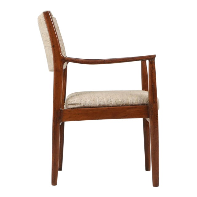 Fine Chandigarh Dining Chair By Pierre Jeanneret 1960s