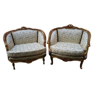Louis XVI-Style Marquise - A Pair