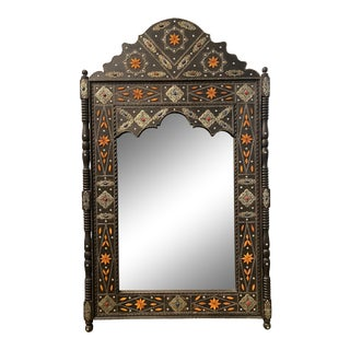 Large Moroccan Arched Floor Mirror For Sale