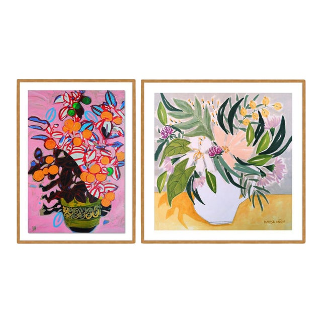 Still Life Gallery Wall, Set of 2 For Sale