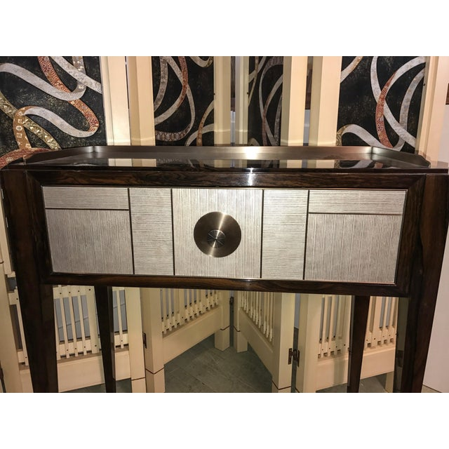Single Drawer Entry Console For Sale In New York - Image 6 of 7