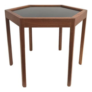 Hans Andersen Teak Hexagonal Table