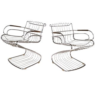Gastone Rinaldi Armchairs for Rima For Sale
