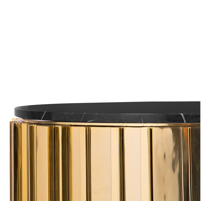 Empire State building was the inspiration for this stunning side table. It adds a classic, yet modern appeal to any space....
