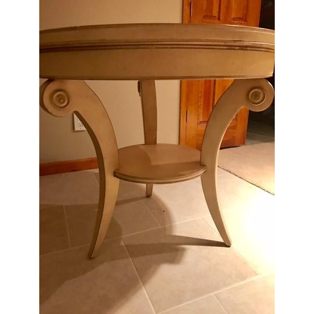 Transitional Round Accent Table - Image 6 of 6