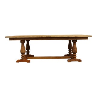 Solid Pine Rectangular Dining Table