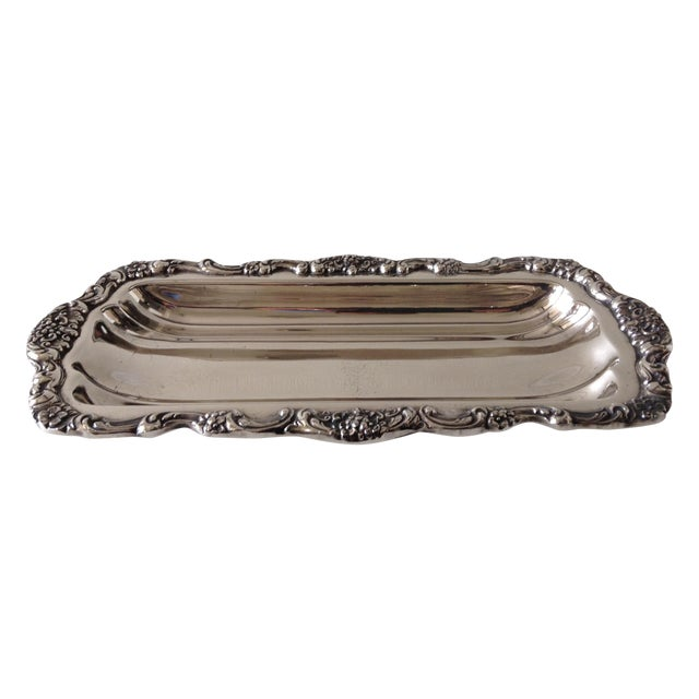 Georgian Style Towle Serving Tray For Sale