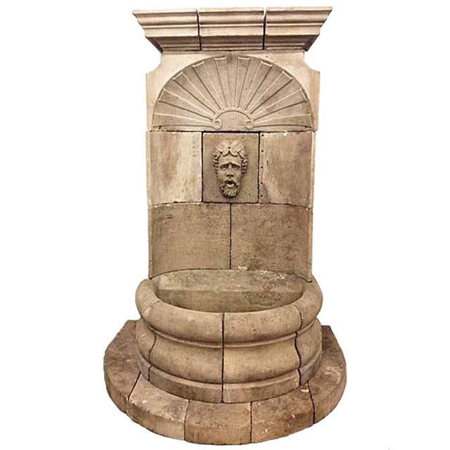 Antique Bacchus Wall Fountain For Sale In Dallas - Image 6 of 6