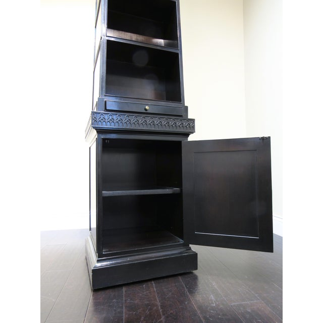 Pyramid Bookcase by Baker For Sale In West Palm - Image 6 of 6
