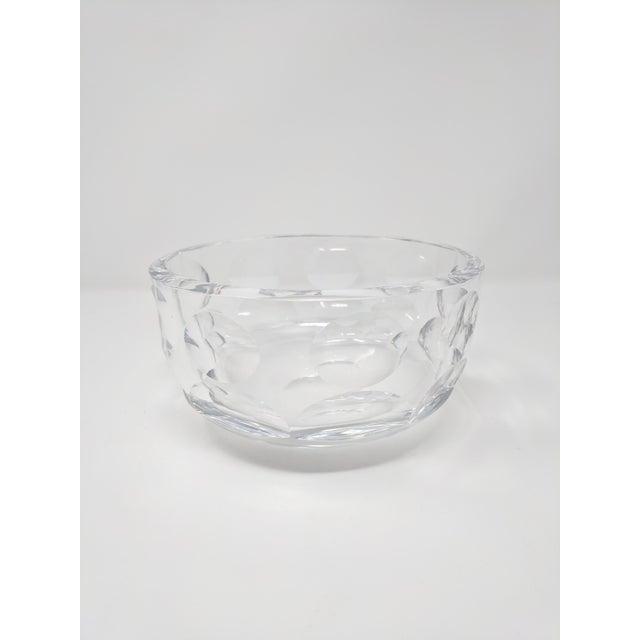 Vintage Orrefors Crystal Bowl For Sale In Sacramento - Image 6 of 6