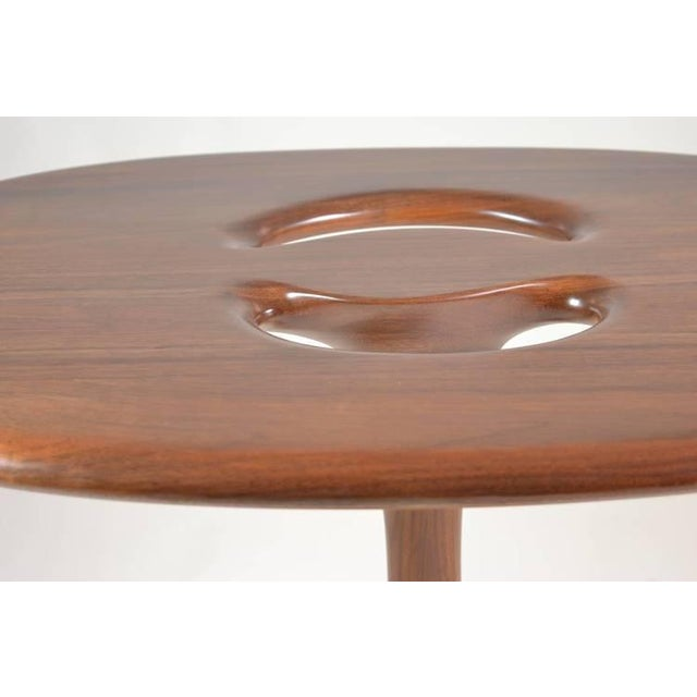 Signed Kovach Carved Wood Table - Image 2 of 10