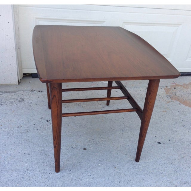 Danish Mid Century Modern Surfboard Side Table - Image 6 of 7