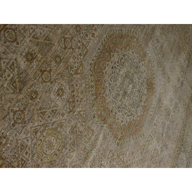 "2010s Mamluk Hand-Knotted Luxury Rug - 7'10"" x 7'11"" For Sale - Image 5 of 10"