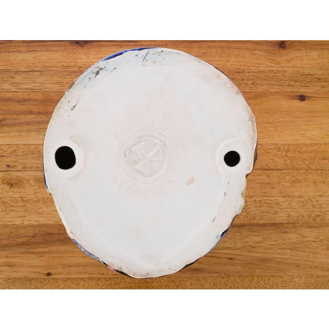 Ceramic Olmec Head by Eric Ledoux For Sale - Image 7 of 8