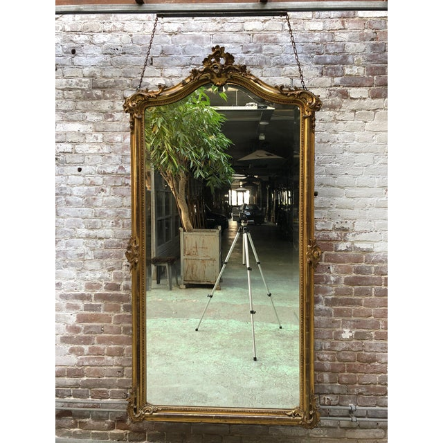 French French 19th Century Mirror Style Louis XV For Sale - Image 3 of 7