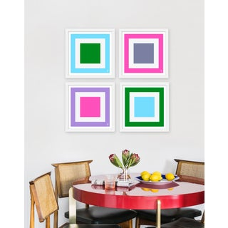 """Medium """"Squared, Set of 4"""" Print by Wendy Concannon, 30"""" X 30"""" Preview"""