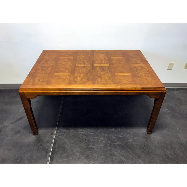 """Here is an Asian style dining table by high-quality furniture maker Century. From their """"Chin Hua"""" line designed by..."""