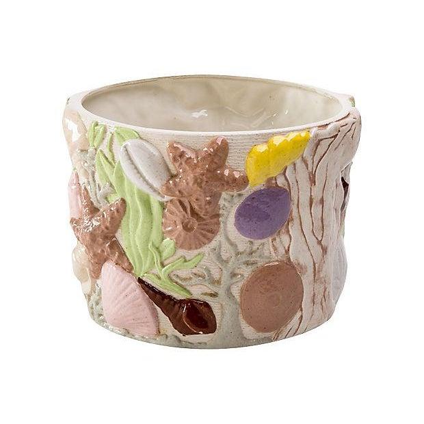 """""""Under the Sea"""" Ceramic Planter For Sale In Greensboro - Image 6 of 10"""