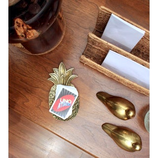 Brass Pineapple Catchall / Paper Weight Preview