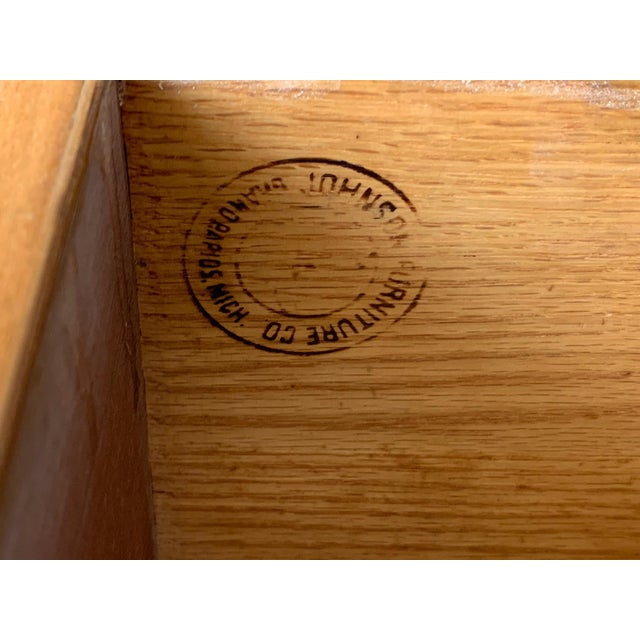 Paul Frankl Ten Drawer Dresser Circa 1950s by Johnson Furniture For Sale In Jacksonville, FL - Image 6 of 7