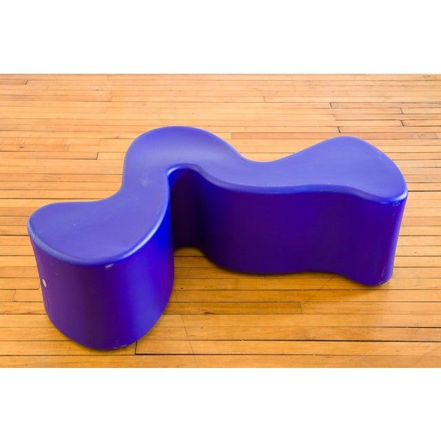 Verner Panton 1990s Vintage Verner Panton Purple Phantom Chair For Sale - Image 4 of 8
