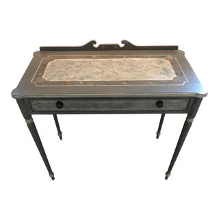 Marie Colette Antique Painted Writing Desk For Sale