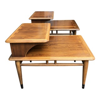 Lane Mid-Century Modern Side Tables - A Pair For Sale
