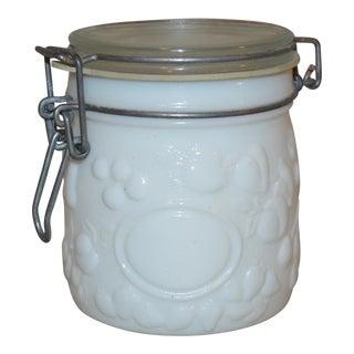 Vintage Wheaton Fine Glassware Jar For Sale