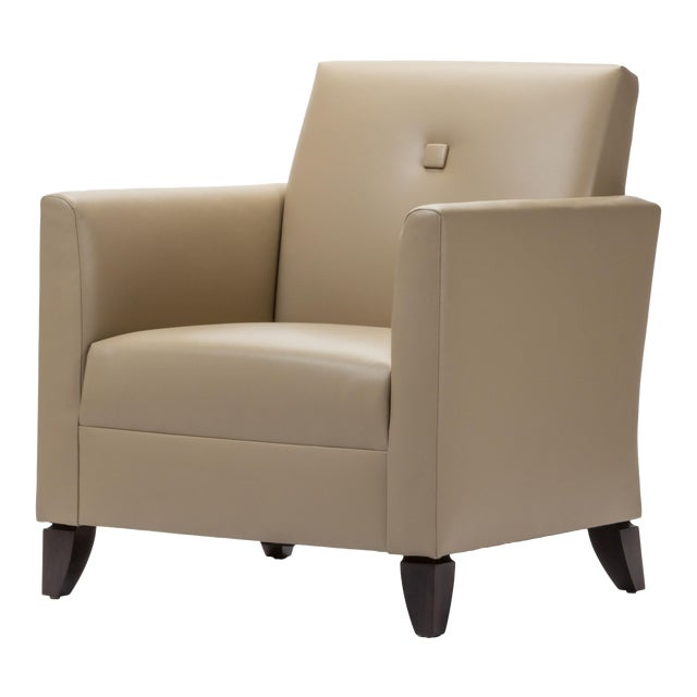 Princeton Leather Reading Chair - Image 1 of 5
