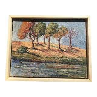 Impasto Landscape Painting