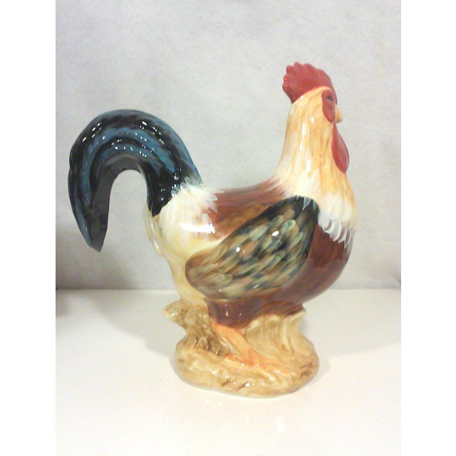 Large Ceramic Rooster - Image 3 of 6