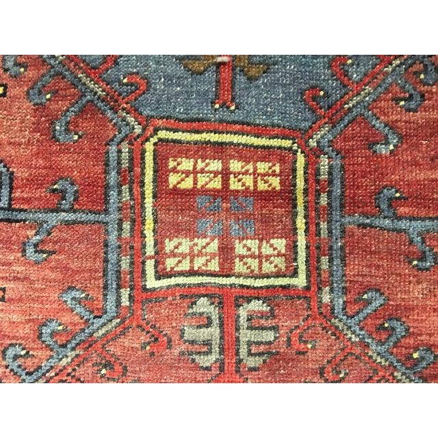 "Bellwether Rugs Vintage Turkish Oushak Runner - 4'9"" X 14'3"" - Image 7 of 10"