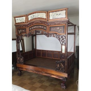Antique Chinese Wedding Bed Preview