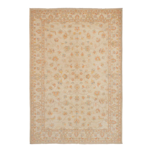 """Classic Hand-Knotted Rug, 6'4"""" X 9'2"""" For Sale"""