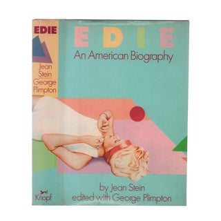"1982 ""First Edition, Edie: An American Biography"" Collectible Book For Sale"