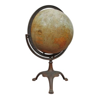 Terrestrial Globe For Sale